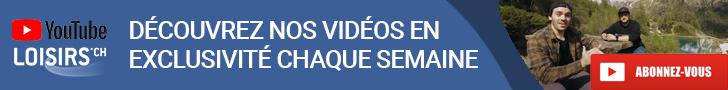S'abonner à la chaine YouTube Loisirs.ch