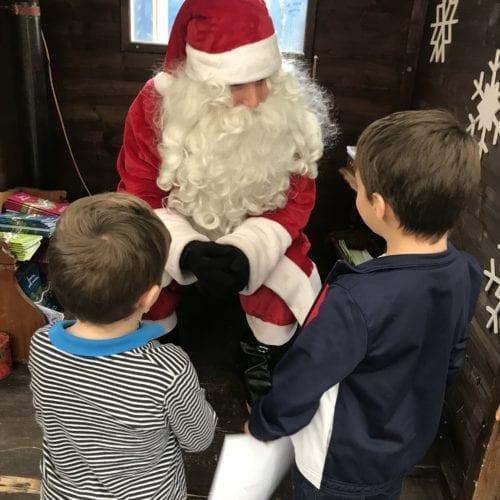 Marché Bô Noël - Lausanne - Père Noël