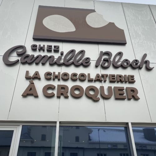 Entrée de Chez Camille Bloch