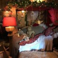 Chambre du Père Noël au Hameau du Père Noël