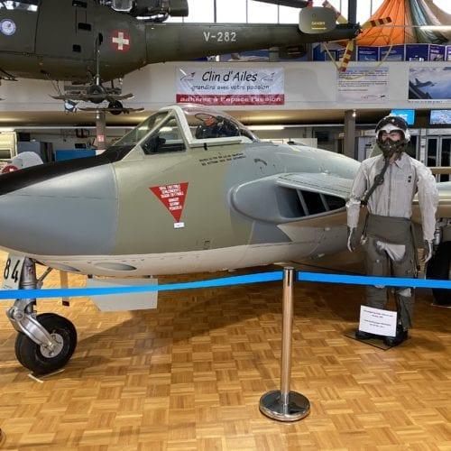 Pilatus PC-7 du musée de l'aviation militaire de Payerne